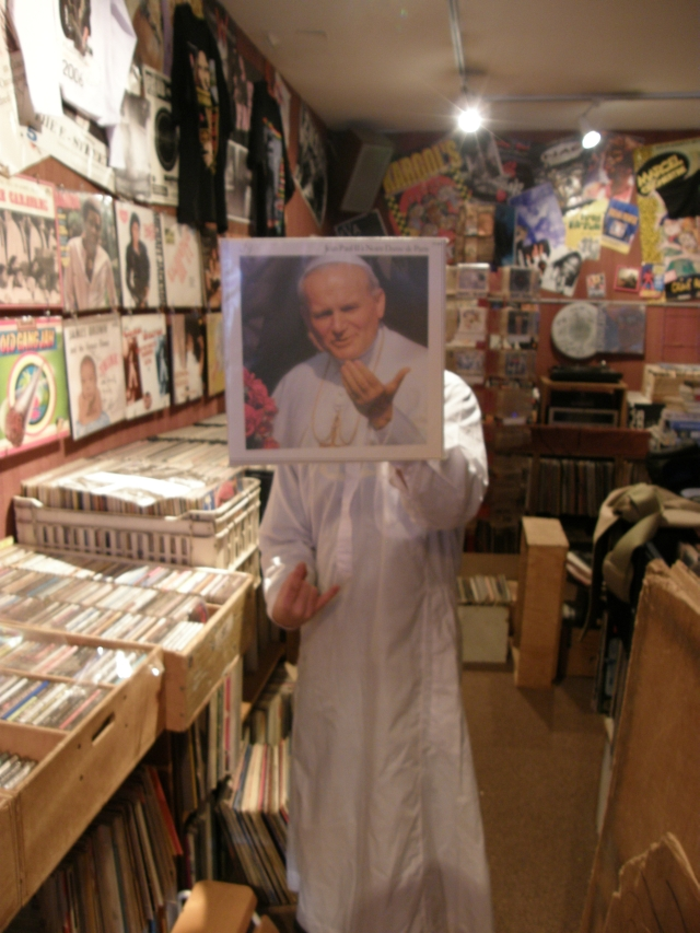 The Venerable Pope John Paul II