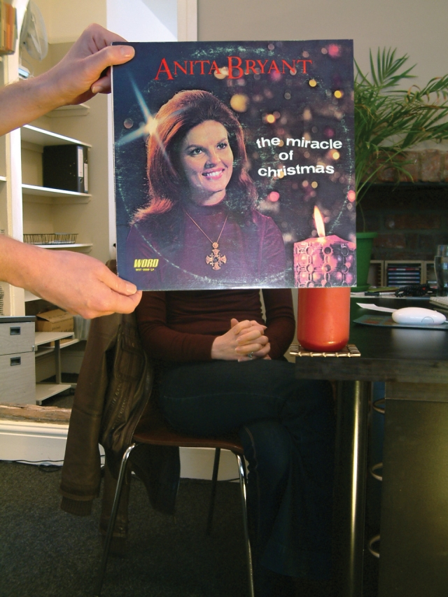 sleeveface christmas anita bryant