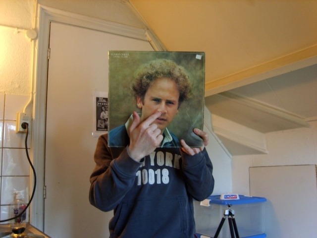art garfunkel fred and danny sleeveface