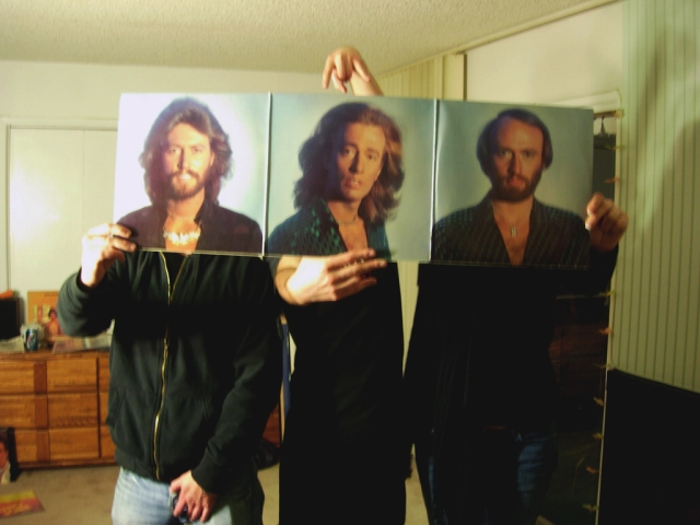 Bee Gees Sleeveface