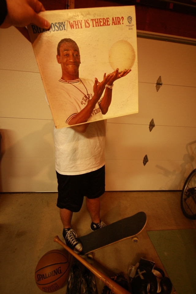Bill Cosby Sleeveface