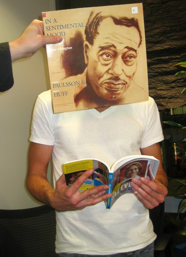 duke ellington sleeveface book be the vinyl sir duke