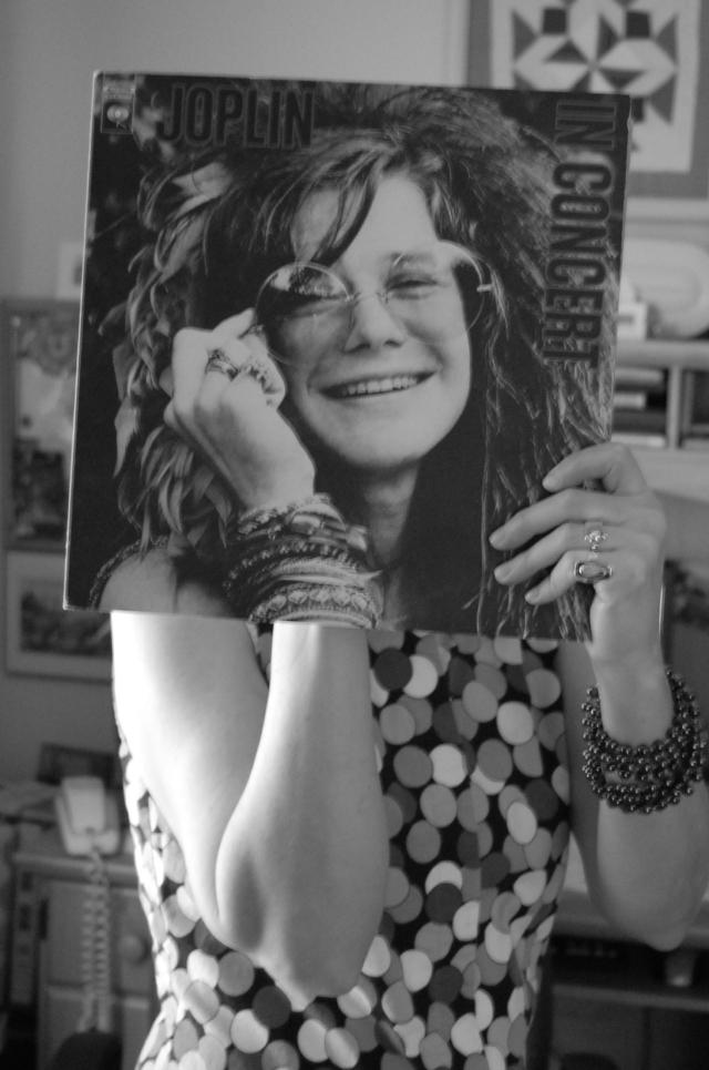 Janis Joplin Sleeveface
