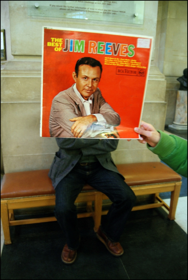 jim reeves sleeveface