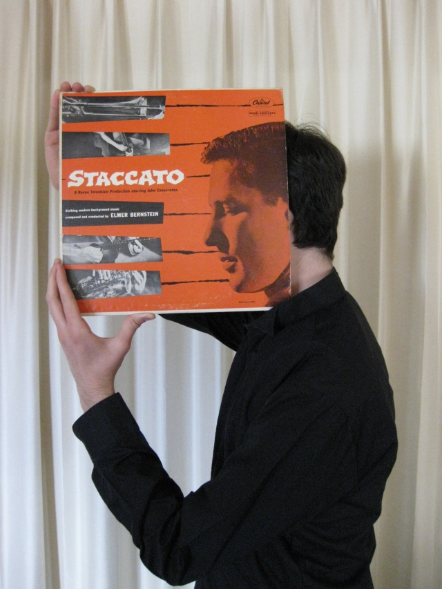john cassavetes staccato sleeveface