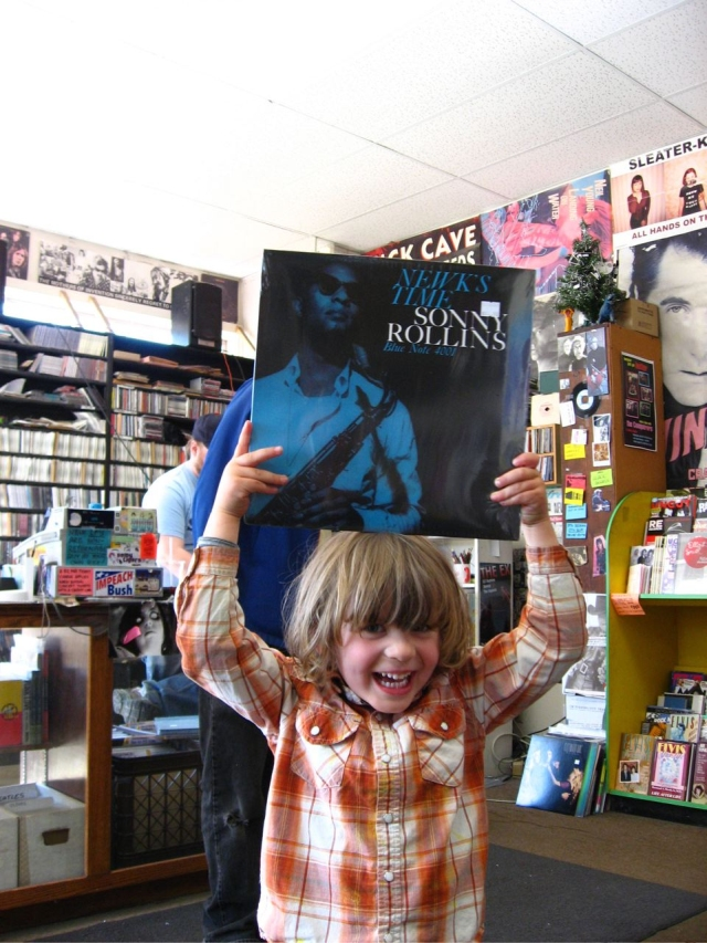 Sonny Rollins, Sleeveface