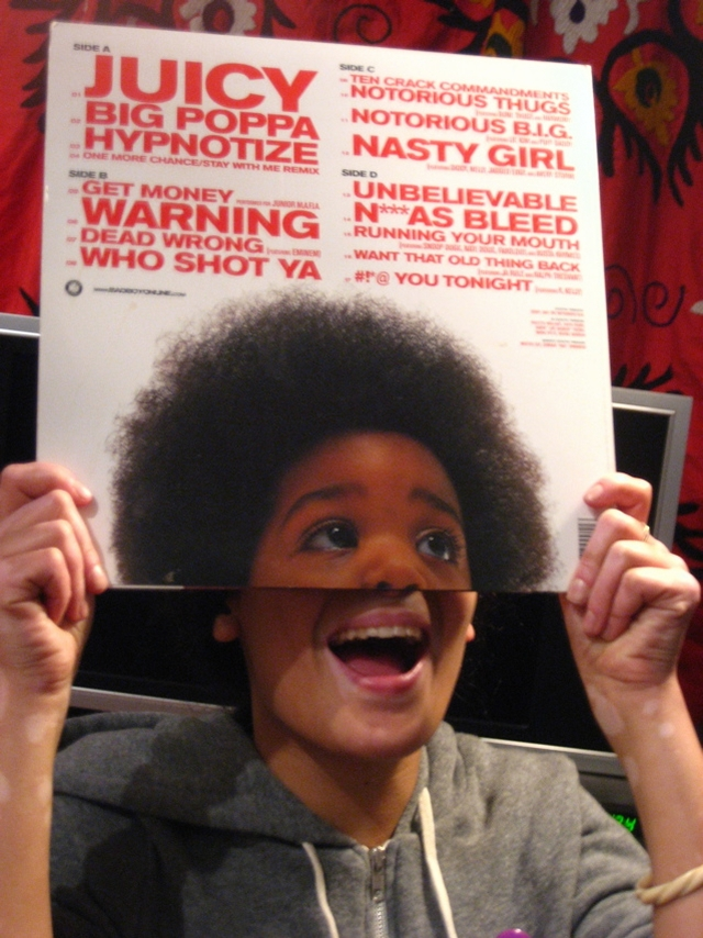 maia stern and pilar biggie smalls sleeveface