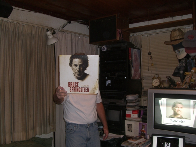 michael hayes bruce springsteen sleeveface