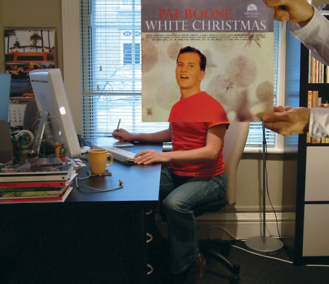 sleeveface christmas pat boone