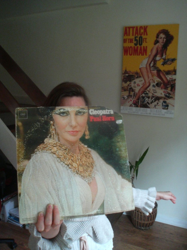 cleopatra elizabeth taylor sleeveface paul horn