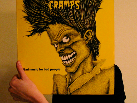 the cramps bad music for bad people fact magazine sleeveface